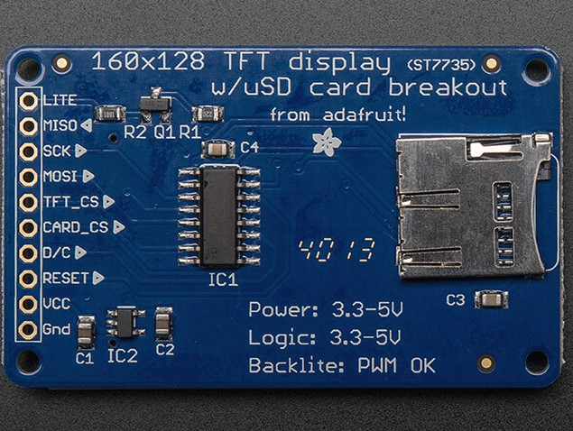 upm: ST7735 Class Reference